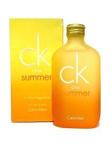 Calvin Klein CK ONE SUMMER 2005 Edition UNISEX 3.4oz-100ml EDT Spr RARE (BB33
