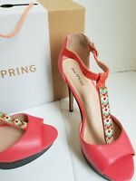 Call it Spring Womens Platform Heels Shoes Size 10 Visage