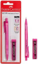 FABER - CASTELL ECON MECHANICAL PENCIL PINK WITH 0,7mm 2B LEADS PACKED