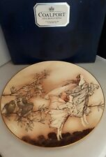 COALPORT BONE CHINA FAIRIES IN SPRING LTD EDITION PLATE ARTHUR RACKHAM