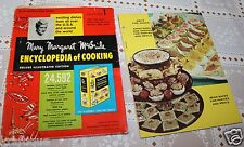 Vintage Mary Margaret Mcbride  Encyclopedia od Cooking Section 1