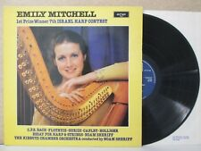 Emily Mitchell - 1st Prize Winner 7th Israël Harpe CONTEST LP (Bach/Flothuis Works)