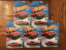 2018 Hot Wheels '82 NISSAN SKYLINE R30 Factory Fresh Lot of 5 FIVE Cars