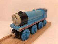 2001 Gullane Thomas & Friends Gordon Wooden Railway Toy Train DISCONTINUED