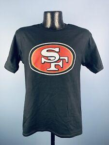 Men's Fanatics San Francisco 49ers George Kittle Black Cotton #85 Player Tee S