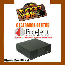 ProJect Stream Box DS Net High End Audio Streamer with Wi-Fi,LAN,USB Black-NEW!