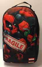 Sprayground x Marvel Deadpool In A Box Crammed 2 Backpack Bag LIMITED Authentic