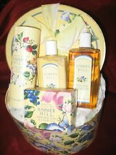 Crabtree & Evelyn Summer Hill Gift Basket & two sets of travel gels & lotion