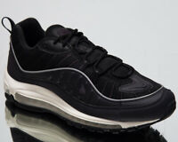Nike Air Max 98 Men's Oil Grey Black Casual Athletic Lifestyle Sneakers Shoes