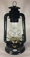 "New Dietz #80 Blizzard Oil Lantern, Black With Gold Trim, 14 3/4"" Tall, #LA879"