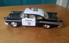 Kinsmart 1957 Chevy Bel Air Police Car Toy 1:40