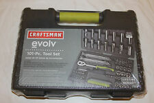 New Craftsman Evolv 101 Piece Mechanics Tool Set Wrenches Sockets Screwdrivers