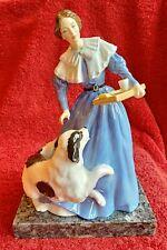 Royal Doulton Le Literary Heroine Jane Eyre Hn3842 Newf Dog 1997 Mint Retired