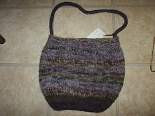 NWT Hand-Made Wool & Alpaca Purse Handbag Made in State College, PA USA