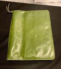 Franklin Covey Planner Green Full Grain Leather