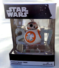 Disney Hallmark Star Wars 2017 BB8 Christmas Tree Ornament New M58194