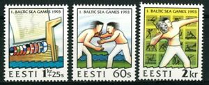 ESTONIA OLD STAMPS 1993 - First Baltic Games - MNH
