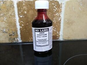 NO LABEL RELAXATION SYRUP (GREEN)