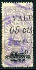 Nicaragua 1911 Fiscal Issues 5¢/25¢ VFU P285 ⭐⭐⭐⭐⭐