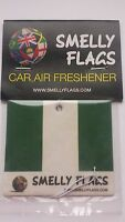 Smelly Flags -Car Air Freshener -NIGERIA -  Gift Present Best match Christmas