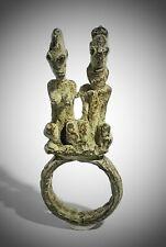 Art African Antique Ring Bronze Tribu Dogon Mali