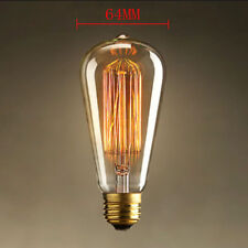 40W E27 220V Filament Light Lamp Bulb Vintage Decor Industrial Style Eddison