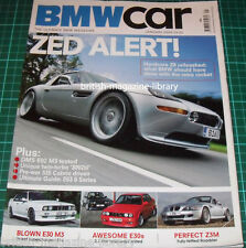BMW Car Magazine January 2008 - BMW Z8 - BMW E30 M3 - BMW Z3M Roadster