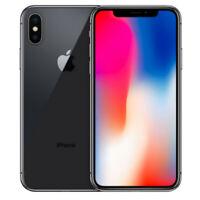Apple iPhone X - 256 GB, 3GB RAM, 12MP - Space Gray - Unlocked - No Face ID