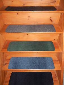 """9"""" x 30"""" Step 100%  FLEXIBLE Vinyl  Outdoor/ Indoor Stair Treads Peel and Stick"""