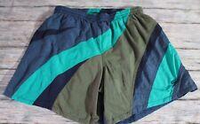 Speedo Men's Swim Trunks Large Liner Elastic Waist Drawstring Pockets