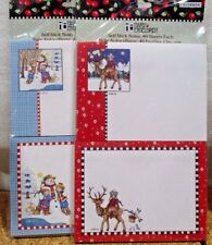 """TWO (2 packs) Mary Engelbreit Self Stick Notes 2007 Colorbok <> 4"""" * 3"""""""