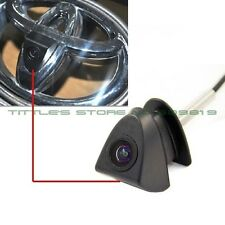 P68 Waterproof wide angle 480 TVL HD ccd Color Toyota Logo mark Camera  for Fron