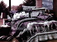Wolves 3pc Bedding Set:1 Duvet Cover and 2 Pillow Shams Full/Queen/King