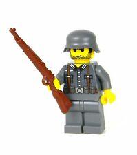 custom German WW2 wehrmacht Soldier made with real LEGO(R) Kar98
