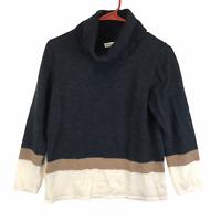 Pendleton Womens Black Merino Wool Sweater XL