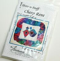 The Stitchworks Counted Cross Stitch Kit Birdhouses Cheep Rent NWT