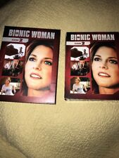 The Bionic Woman: Season Two (DVD,2011) Complete 5 DVD's Watched Once