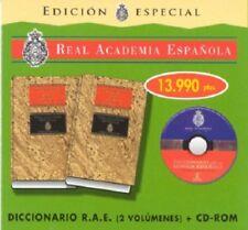 Dictionary of the real academia española twentieth edition includes CD