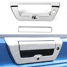 For Ford F150 2015+ Chrome ABS  Auto Rear Trunk Door Tailgate Handle Cover Trim