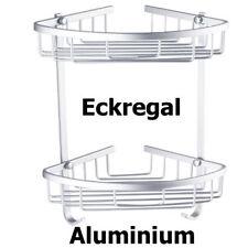 Mensole e cestini da doccia in alluminio