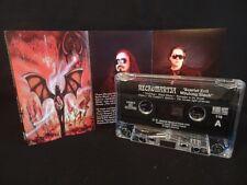NECROMANTIA Scarlet Evil Witching Black / 1996/ MC CASSETTE VARATHRON, MYSTIFIER