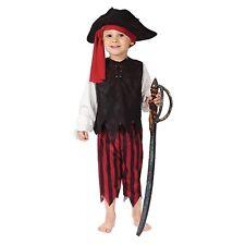 Boy's Caribbean Pirate Halloween Dress-Up Halloween Costume Size Medium 8-10
