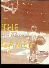 Michigan High School Basketball Championship Program 1993