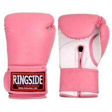 Ringside Boxing Mma Kick Boxing Professional Aerobic Bag Gloves - 12 oz / Pink