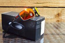 Nuevo Oakley Carbono Prime OO6021-0363 Negro Mate Gafas de sol polarizadas Prizm Rubí