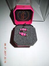 NIB Juicy Couture YJRU6803 C-Pink/Silver Binoculars Charm