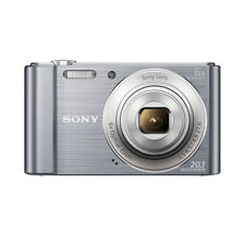 Sony DSC-W810 20.1 Megapixels Digital Camera+16GB card+carry case (Silver)