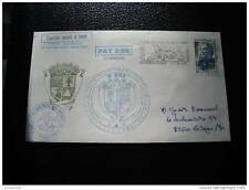 TAAF lettre 11/12/88 - timbre stamp - yvert et tellier n°128 (cy6)