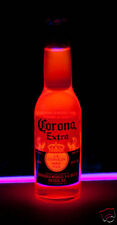 Corona GLOWING Bottle (Blacklight Reactive) UV Neon! Great with a poster or sign