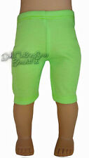 """Lime Green Capri Leggings for 18"""" American Girl Doll Clothes Accessories"""